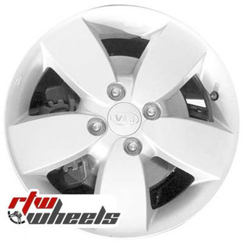 15 inch Kia Rio  OEM wheels 74592 part# 529101G615, 529101G625