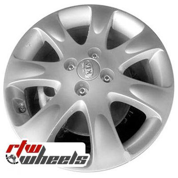 16 inch Kia Rio  OEM wheels 74605 part# 529101G400, 529101G405