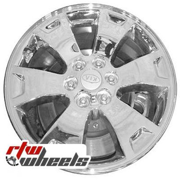 17 inch Kia Borrego  OEM wheels 74607 part# 529102J150, 529102J150