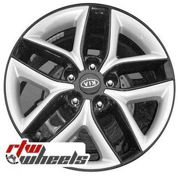 17 inch Kia Forte  OEM wheels 74626 part# 52910M350