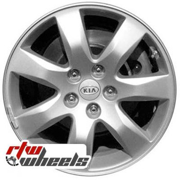17 inch Kia Sorento  OEM wheels 74632 part# 529102P175