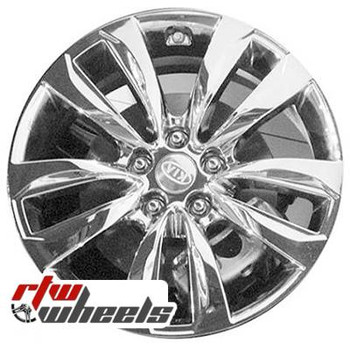 18 inch Kia Sorento  OEM wheels 74633 part# 529101U385