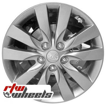 17 inch Kia Forte  OEM wheels 74647 part# 529101M360