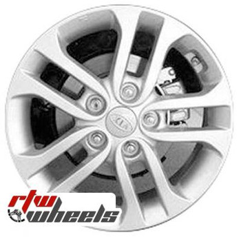 16 inch Kia Forte  OEM wheels 74650 part# 529101M650