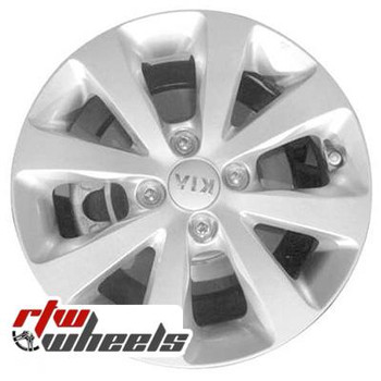 15 inch Kia Rio  OEM wheels 74659 part# 529101W250