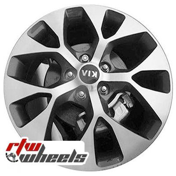 18 inch Kia Soul  OEM wheels 74662 part# 529102K750