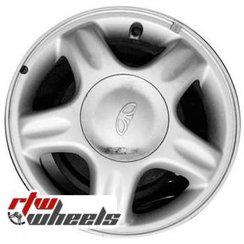 14 inch Daewoo Lanos  OEM wheels 75131 part# 96303778