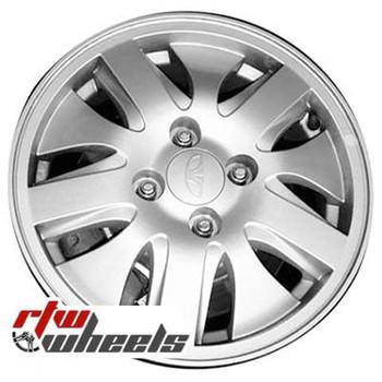 14 inch Daewoo Nubira  OEM wheels 75136 part# 96131992