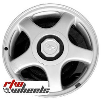 14 inch Daewoo Lanos  OEM wheels 75138 part# 96278992