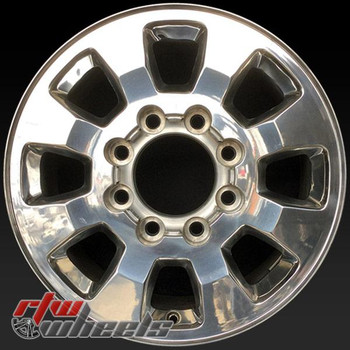 18 inch GMC Sierra 2500 3500  OEM wheels 5501 part# 09597736, 9597736