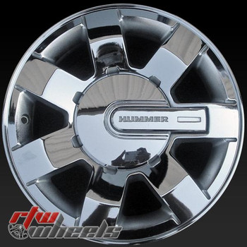 16 inch Hummer H3 OEM wheels 6303 part# 9595907