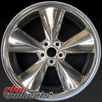 """Dodge Challenger OEM wheels 2015-2018 20"""" Polished rims 2524"""