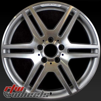 "Mercedes E350 OEM wheels 2010-2013 18"" Machined rims 85126"