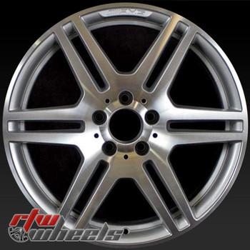 "Mercedes E350 OEM wheels 2010-2013 18"" Machined rims 85126"