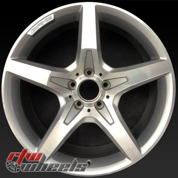 19 inch Mercedes SL550 OEM wheels 85284 part# 2314011702