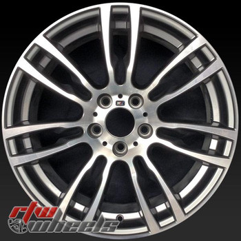 19 inch BMW 3 Series OEM wheels 71623 part# 36117845883, 36117850021