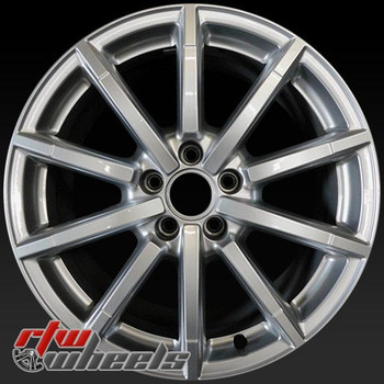18 inch Audi A5 OEM wheels 58957 part# 8T0601025BM