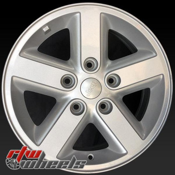 16 inch Jeep Wrangler OEM wheels 9073 part# F2090706
