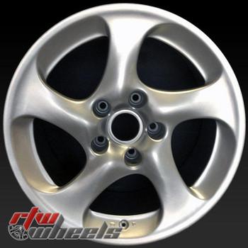18 inch Porsche 911 OEM wheels 67261 part# 99636214201, 99636214210