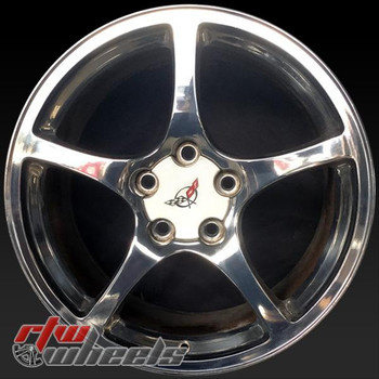 17 inch Chevy Corvette OEM wheels 5160 part# 09594738