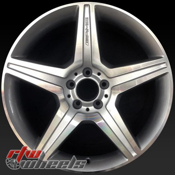 19 inch Mercedes S Class OEM wheels 85118 part# 2214016102