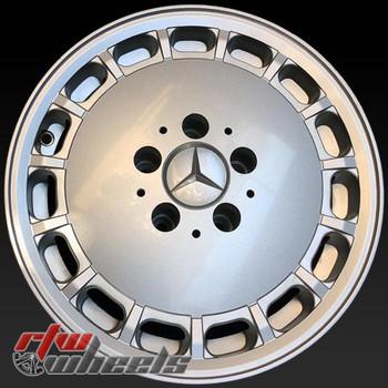 15 inch Mercedes 420 OEM wheels 65140 part# 1264004102