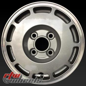 14 inch Nissan Stanza OEM wheels 62235 part# 40300D4026