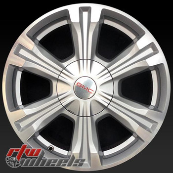 18 inch GMC Terrain OEM wheels 5772 part# 23446993, 23446992