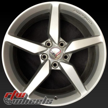 19 inch Chevy Corvette OEM wheels 5638 part# 20986439, AAPH