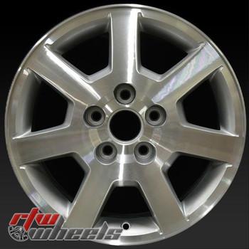 18 inch Cadillac SRX OEM wheels 4581 part# 9594305, 9594718