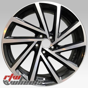19 inch Volkswagen VW Golf OEM wheels 70053 part# 5G0601025DBFZZ, 5G0601025DB
