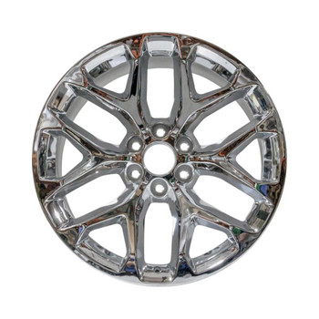 "22x9"" Chrome SNOWFLAKE factory replacement wheel for GM Trucks replica 5668"