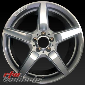 19 inch Mercedes CLS550 OEM wheels 85255 part# 2184011602