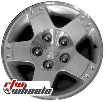 17 inch Dodge Ram 1500  OEM wheels 2164 part# 5HK22TRAMD