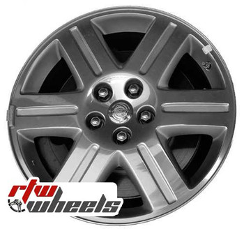 18 inch Chrysler 300  OEM wheels 2263 part# OUQ71TRMAB