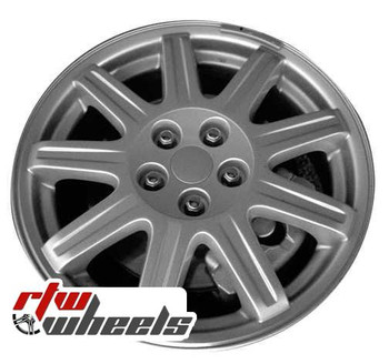 16 inch Chrysler PT Cruiser  OEM wheels 2270 part# 22705085550AA, 2260ZKOTRMAA