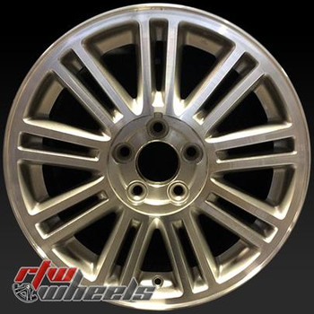 17 inch Chrysler Sebring  OEM wheels 2284 part# 0ZC95TRMAA, XX67PAKAB