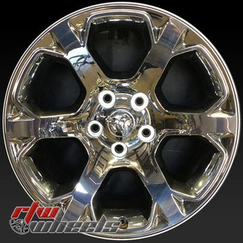 20 inch Dodge Ram 1500  OEM wheels 2454 part# 1UB19SZ0AA, 1UB19SZ0AB, 1UB19SZ0AC