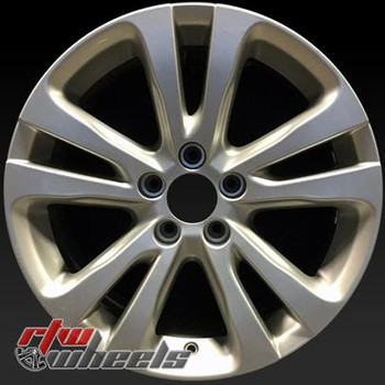 17 inch Chrysler 200  OEM wheels 2511 part# 1WM43GSAAA