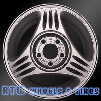 15 inch Ford Mustang  OEM wheels 3087 part# F4ZZ1007A, F4ZC1007BA