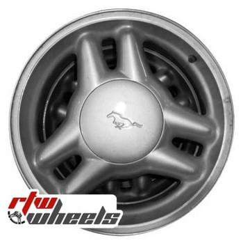 17 inch Ford Mustang  OEM wheels 3089 part# F4ZZ1007B, F4ZC1007FA