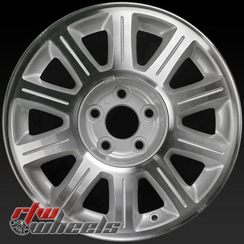 16 inch Lincoln Continental  OEM wheels 3309 part# XF321007AA,  XF3Z1007AA, XF32AA