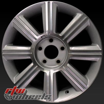 "Lincoln MKZ oem wheels 2007-2009. 17"" Machined Silver rims 3656"