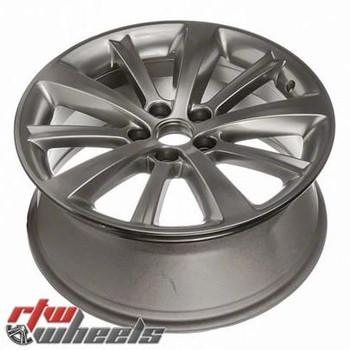 "Lincoln MKS wheels 2009-2012. 19"" Hypersilver rims 3766"