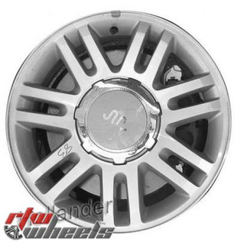 18 inch Ford F150  OEM wheels 3784 part# 9L3Z1007H, 9L341007NB, 9L341007NB, 9L3Z1007D, AL3Z1007F
