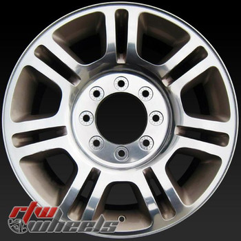20 inch Ford F250 F350  OEM wheels 3845 part# BC3Z1007D, BC341007DA, BC341007DB