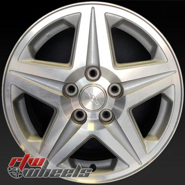 16 inch Chevy Monte Carlo  OEM wheels 5115 part# 12487571, DBP