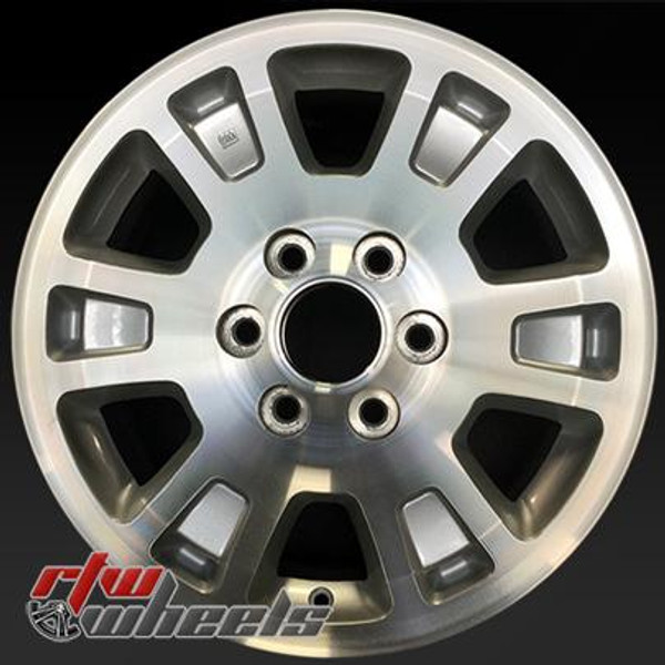 17 inch GMC   OEM wheels 5222 part# 09595382