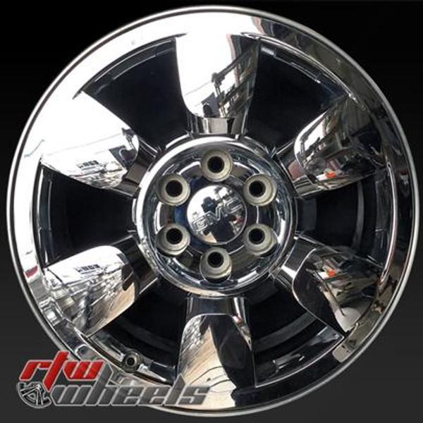 20 inch GMC Sierra  OEM wheels 5419 part# 09597228