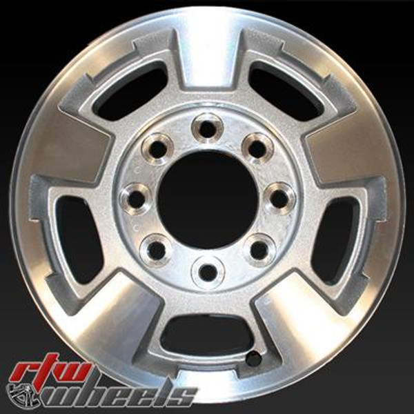 17 inch Chevy Silverado  OEM wheels 5500 part# 9597726, 9597727